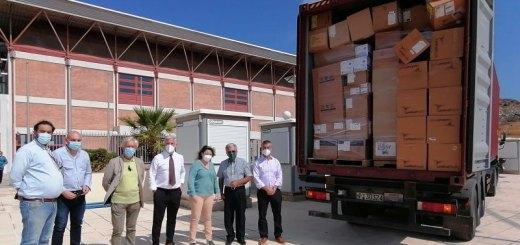 Δωρεά υγειονομικού αναλώσιμου υλικού από τον IOCC
