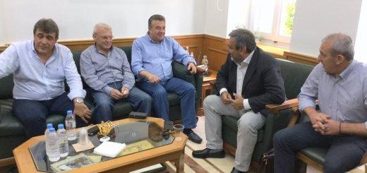 Με έμφαση τον ΒΟΑΚ συνάντηση Αρναουτάκη, Βερναρδάκη και Βουλευτές