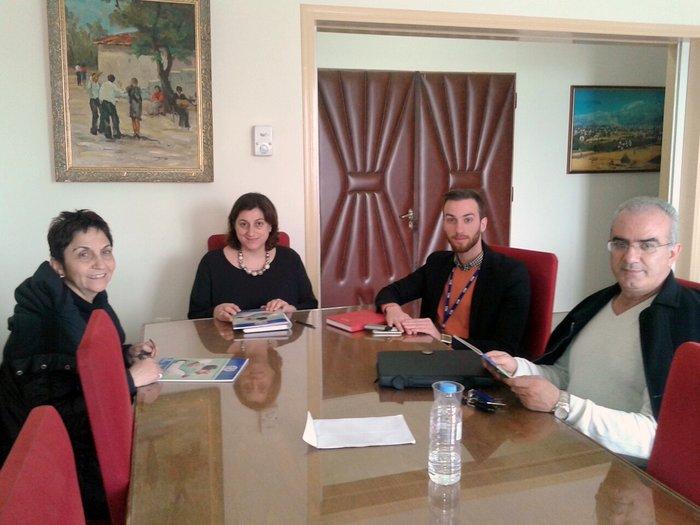 συνάντηση της Αντιπεριφερειάρχη Λασιθίου με τον υπεύθυνο επικοινωνίας & πληροφόρησης του Διεθνή Οργανισμού Μετανάστευσης (ΔΟΜ), κο Ι. Λημνιό-Σεκέρη