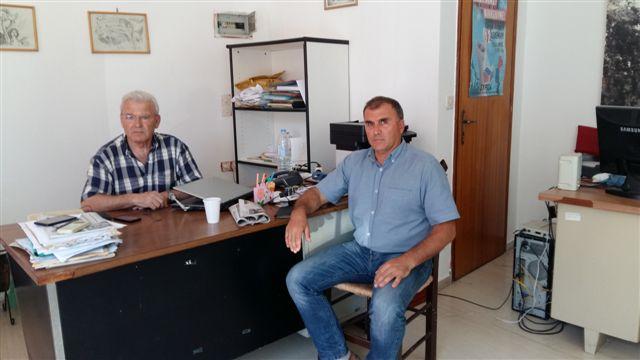 Συνάντηση Θραψανιώτη με τον Δήμαρχο Ιεράπετρας