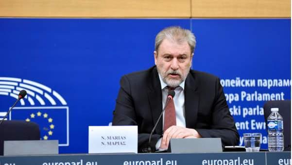 το κόμμα Ελλάδα ο άλλος δρόμος παρουσίασε ο Νότης Μαριάς