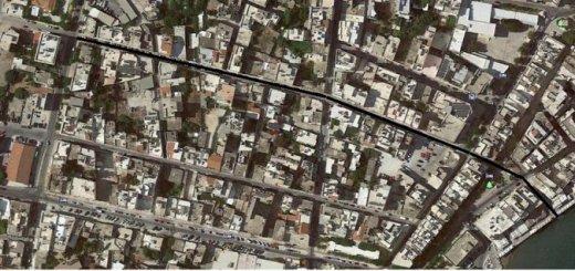 μελέτη αποχέτευσης ομβρίων της οδού Ν. Φωκά, λάθος υπολογισμοί