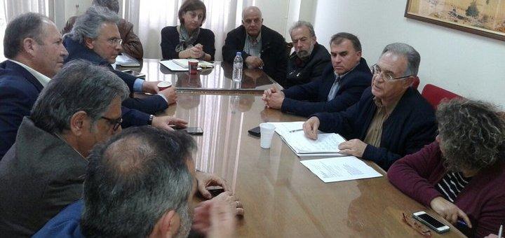 Σύσκεψη για τον Βόρειο Οδικό Άξονα μέσα στο Λασίθι, δυσαρέσκεια
