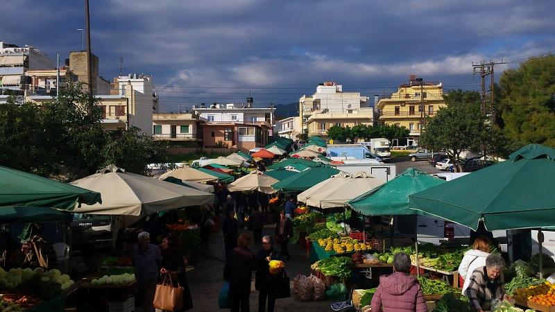 Μέτρα προστασίας στις λαϊκές αγορές