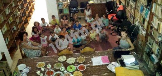 Τελείωσε γιορτινά η Καλοκαιρινή Εκστρατεία της Εθνικής Βιβλιοθήκης