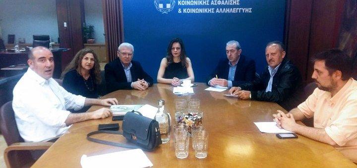Συνάντηση Αχτσιόγλου με ξενοδοχοϋπάλληλους Λασιθίου