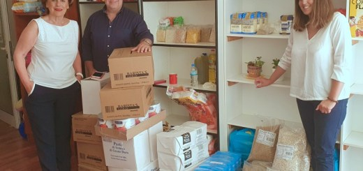 Ευχαριστήριο προς Elounda Gulf Villas για στήριξη του κοινωνικού παντοπωλείου
