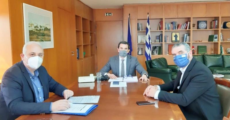 Δεσμεύσεις του Υπουργού Περιβάλλοντος για λύση των προβλημάτων που προέκυψαν από την ανάρτηση των δασικών χαρτών στην Κρήτη