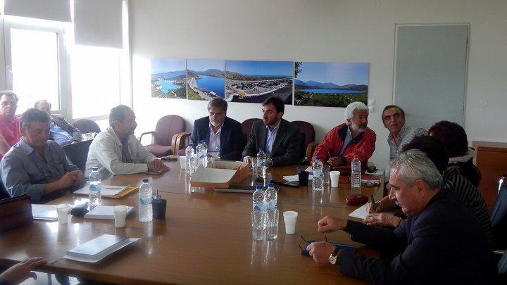 Συνεδρίασε το νέο Διοικητικό Συμβούλιο του Οργανισμού Ανάπτυξης Κρήτης ΑΕ