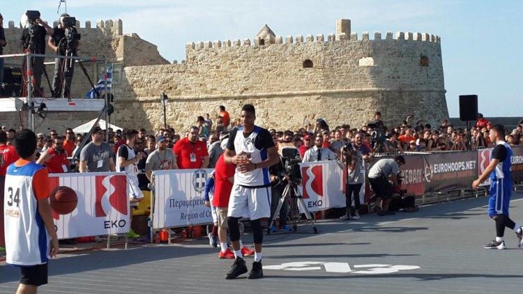 Antetokounbros Streetball Event 2016