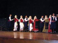 Από το διαγωνισμό χορου