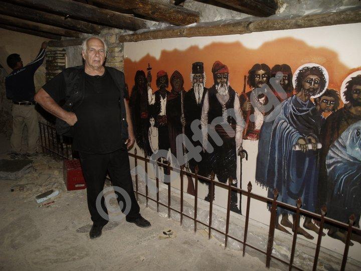 Νίκος Κούνδουρος εκκλησάκι της λίμνης τελευταίες πινελιές