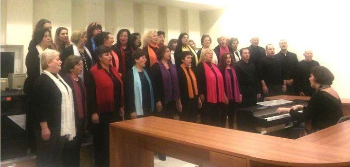 η Μικτή Χορωδία του Δήμου Ιεράπετρας