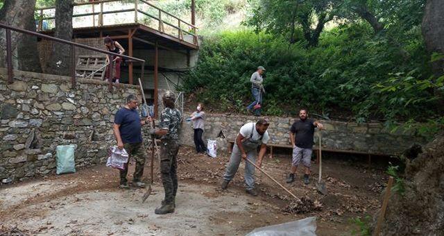 Παρασπόρι, εθελοντικές δράσεις καθαρισμού και καλλωπισμού