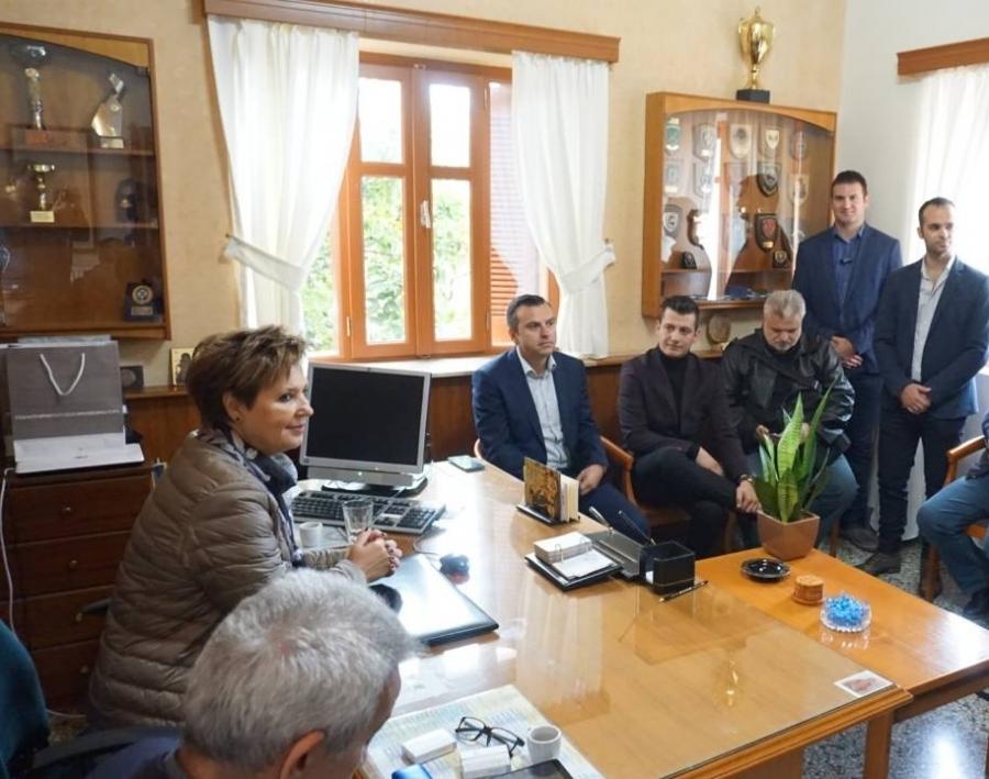 Συνάντηση της Ένωσης Αξιωματικών ΕΛ.ΑΣ. Κρήτης με την Υπουργό κ. Όλγα Γεροβασίλη
