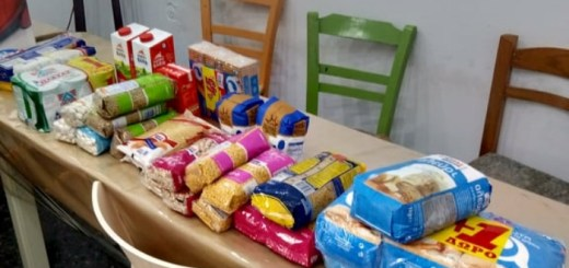 Συλλογή τροφίμων για τους σεισμόπληκτους