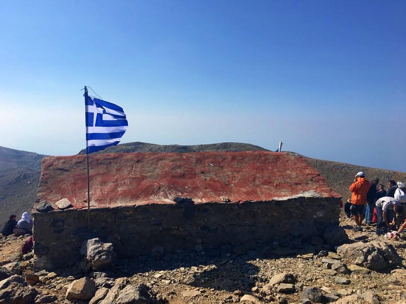 Ανάβαση στον Αφέντη Χριστό από τον ΕΟΣ Λασιθίου 2141 μέτρα
