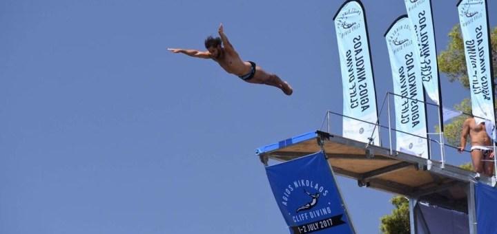 Agios Nikolaos Cliff Diving 2018, κορυφαίο αθλητικό σόου