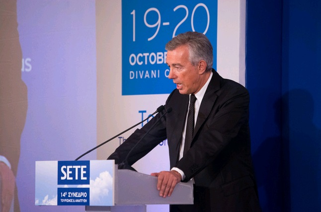 ο πρόεδρος του Σ.Ε.Τ.Ε., Ανδρέας Α. Ανδρεάδης