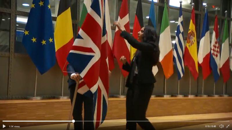 Υπεστάλη η Βρετανική σημαία από το Ευρωκοινοβούλιο