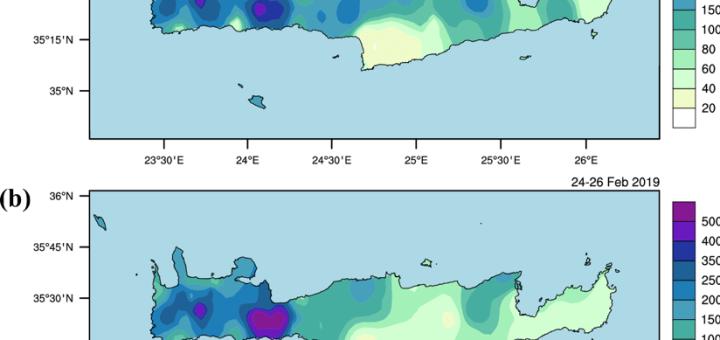 Αναλύοντας τις πλημμύρες του Φεβρουαρίου 2019 στην Κρήτη