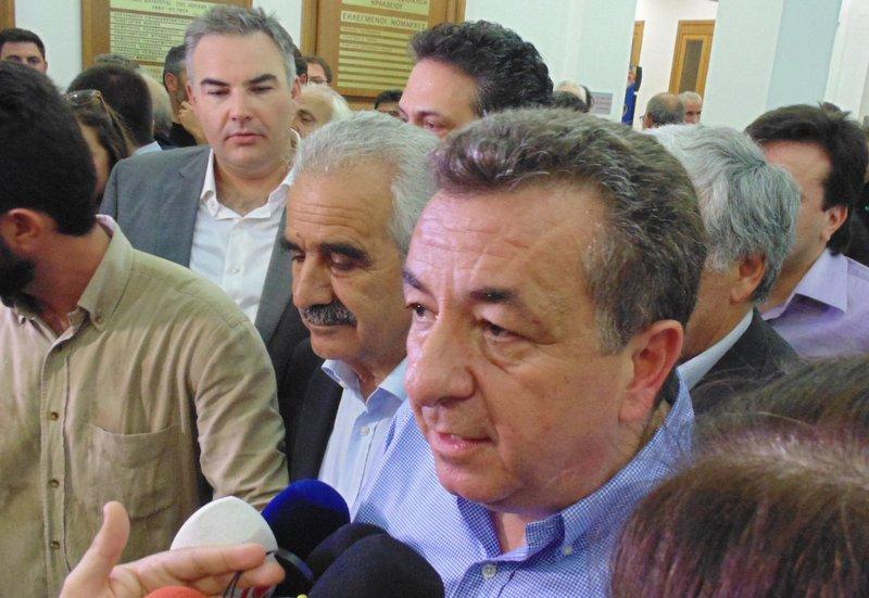 ο Σταύρος Αρναουτάκης σε δηλώσεις του μετά το αποτέλεσμα