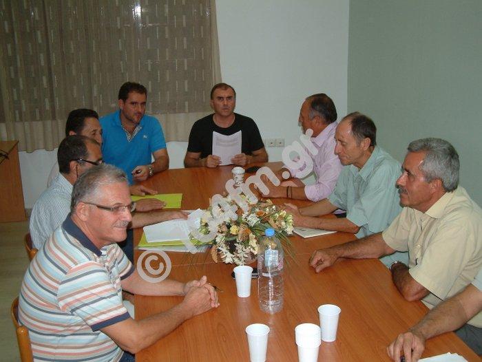 Η Επιτροπή Συλλόγων και Φορέων για τον Ορεινό όγκο της Θρυπτής,  με τον δήμαρχο Ιεράπετρας