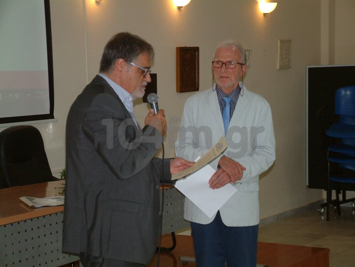 Julien Grivel, επίτιμος δημότης Αγίου Νικολάου