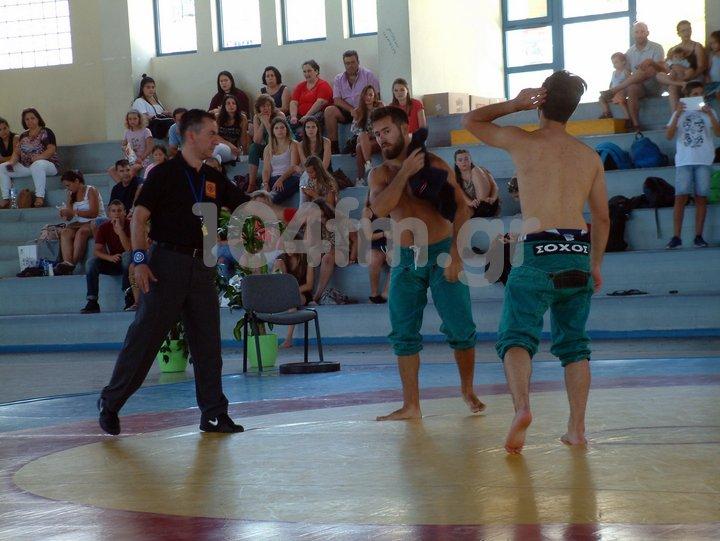 5ο παγκρήτιο πρωτάθλημα πάλης Κώστας Τραντάς