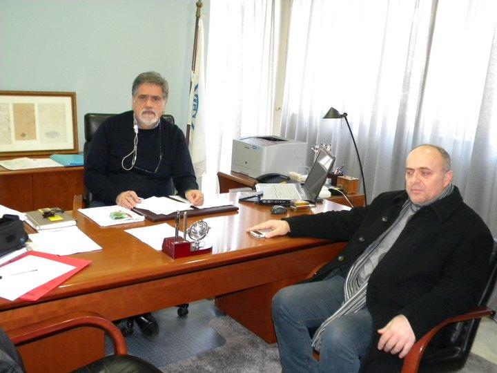 Αντώνης Ζερβός, Νίκος Χρυσάκης