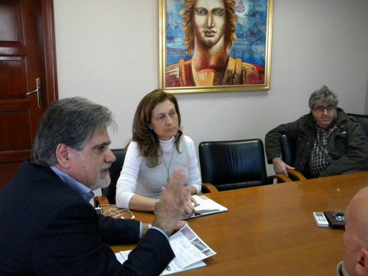 δήμαρχος, Αντώνης Ζερβός, αντιδήμαρχος, Αφροδίτη Βαρκαράκη,