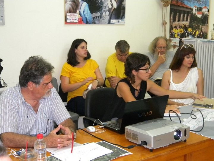 παρουσίαση  της πρότασης για την ανάδειξη του ιστορικού κέντρου της  Νεάπολης