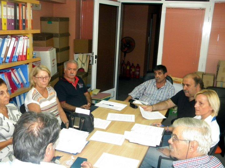 για τα κοινωνικά παντοπωλεία στο δήμο Αγίου Νικολάου