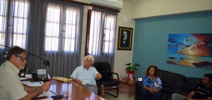 Ζητήματα Αμμουδάρας στον δήμαρχο Αγ. Νικολάου