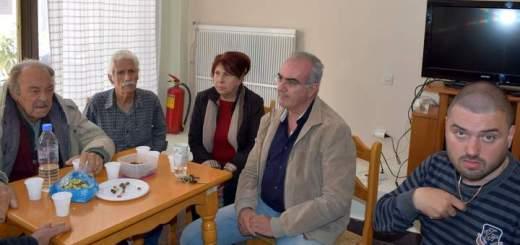 Συνάντηση των μελών του ΚΑΠΗ με τον πρόεδρο του ΟΚΥΔΑΝ