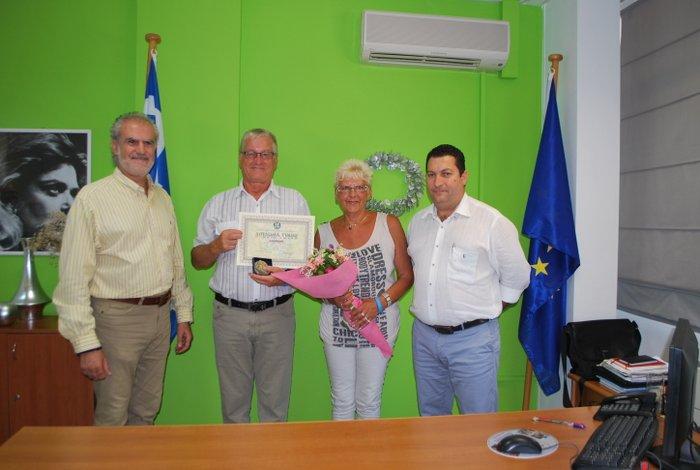 Θέμης Μουντράκης, Michel & Claudine Florentin και Γιάννης Μαστοράκης
