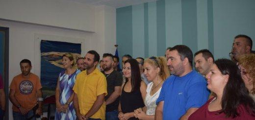 Ορκίστηκαν οι νέοι υπάλληλοι καθαριότητας στον Δήμο Αγίου Νικολάου