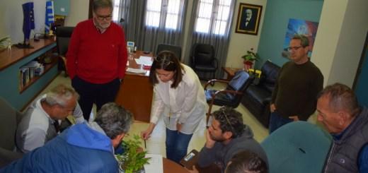 Συνάντηση στον Δήμο για την ολοκλήρωση των κατασκευών στην Λίμνη του Αγίου Νικολάου