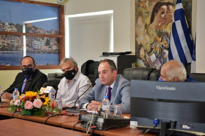 Περιοδεία Πλακιωτάκη στην ανατολική Κρήτη, εξαγγελίες έργων