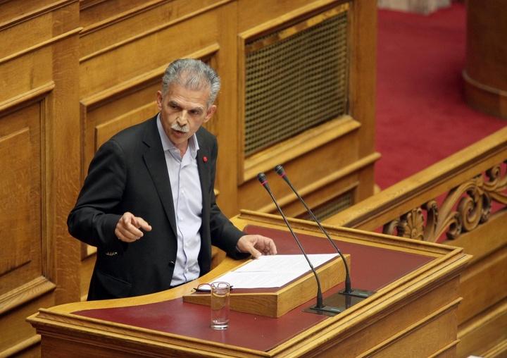 ο Σπύρος Δανέλλης στη Βουλή