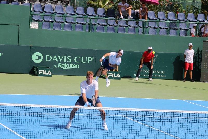 Δεν τα κατάφερε η Εθνική μας Ομάδα, η Λιθουανία επέστρεψε στο World Group I στο Davis Cup