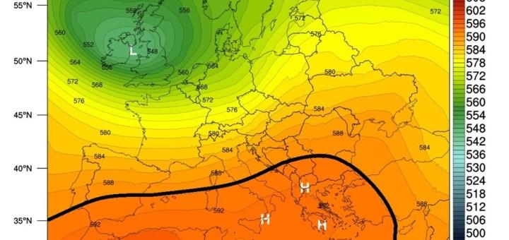 Αισθητή άνοδος της θερμοκρασίας από Τρίτη (27-7-2021)
