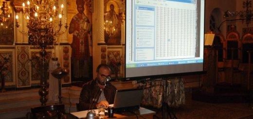 Ο Προϊστάμενος Γενικών Αρχείων του Κράτους Νομού Ηρακλείου, μέλος Διοικητικού Συμβουλίου Ε.Κ.Ι.Μ. κ. Μανόλης Δρακάκης