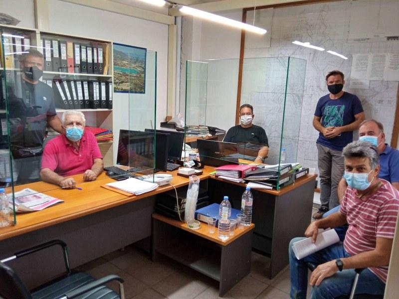 Συνάντηση Ενιαίου Αγροτικού Συλλόγου με ΤΟΕΒ Ιεράπετρας