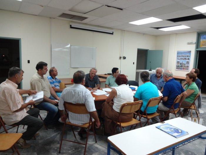 η επιτροπή αγώνα ενάντια στο ξεπούλημα της πρώην βάσης Γουρνών