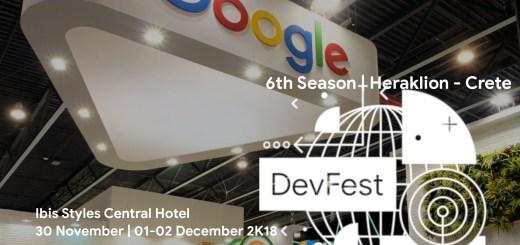 Tο Google Developers Festival Greece 2018 έρχεται στο Ηράκλειο