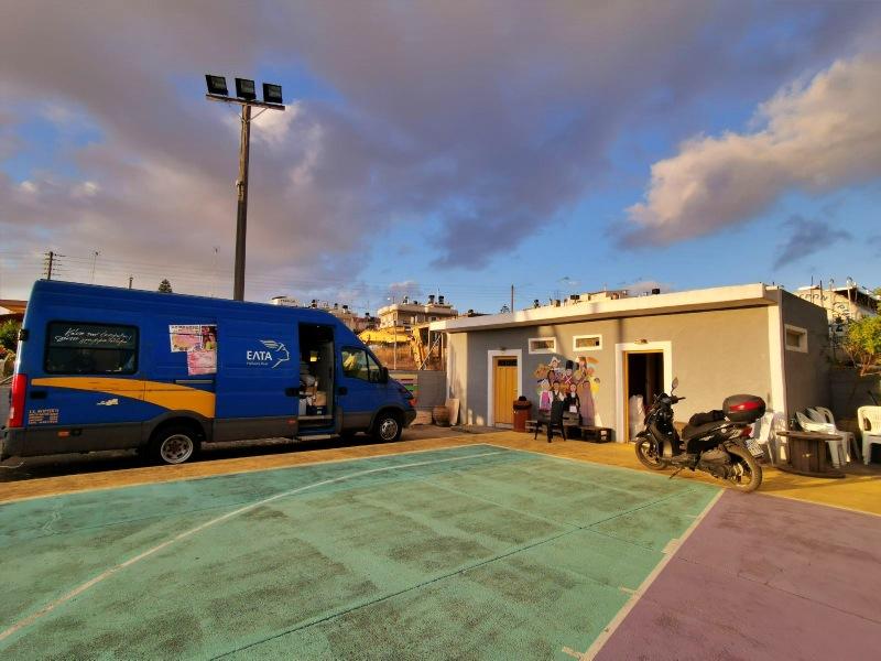 Σε λειτουργία το Τροχοταχυδρομείο των ΕΛΤΑ στο Αρκαλοχώρι