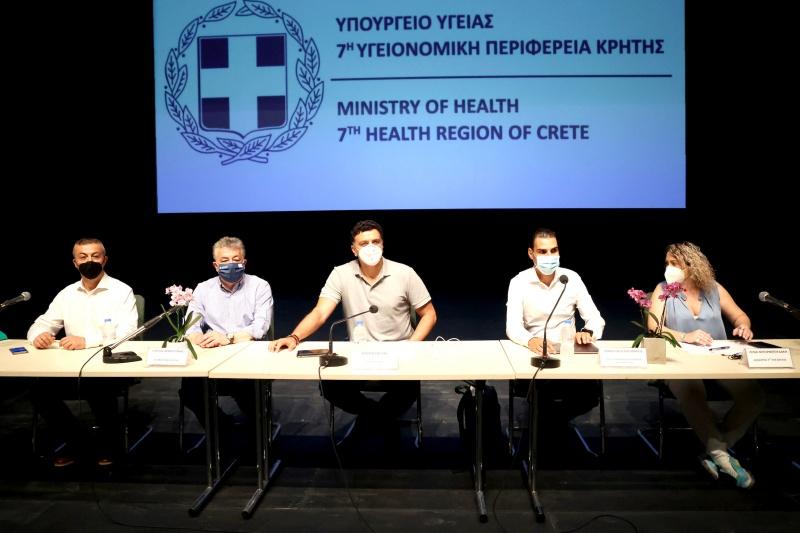 Στη Κρήτη ο Κικίλιας εκστρατεία υπέρ εμβολιασμών