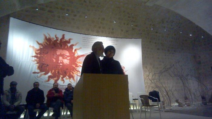 βραβεύτηκε  ο σπουδαίος  Κρητικός σκηνοθέτης Γιάννης Σμαραγδής για την προσφορά του στον πολιτισμό του τόπου μας,