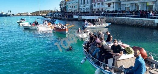 Θεοφάνια στο λιμάνι του Αγίου Νικολάου